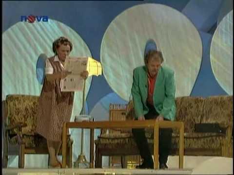 Jiřina Bohdalová a Karel Šíp - Služby všeho druhu (2.část)