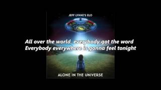 ELO - All Over The World (with lyrics)