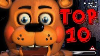 Топ 10 Фактов об Игрушечном Фредди(Five Nights at Freddy's Top 10)