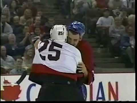 Chris Neil vs. Gino Odjick