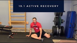 CrossFit Open 19.1 Active Recovery