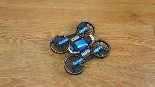 WiFi+FPV+RC+Drone+Motorcycle+2+in+1+Foldable+Helicopter+Camera+0 3MP+Altitude+Hold+RC+Quadcopter+Mot