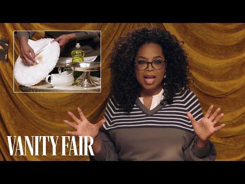 Oprah's Trick for Cleaning Up Dog Poop   Secret Talent Theatre   Vanity Fair