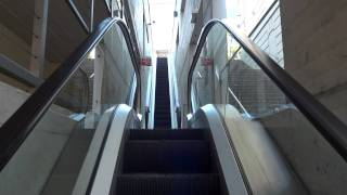 Small Otis escalator