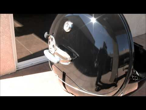My New Weber 26 75 Inch Kettle Grill (07-07-2013)