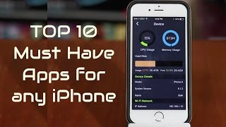 Top 10 Must Have iPhone Apps 2015