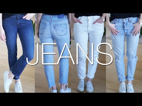 My jeans fit guide & how to shop sustainable denim