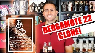 22 Shades of Bergamot by DUA Fragrances Cologne Review