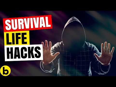 9 Survival Life Hacks That May Save Your Life One Day