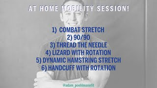 At Home Mobility Session with Adam Peohlmann