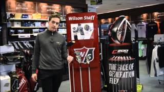 Wilson Staff FG Tour F5 Driver - Fast Fit Technology