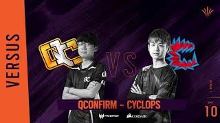 QConfirm vs Cyclops // Rainbow Six APAC North Division - Playday #10