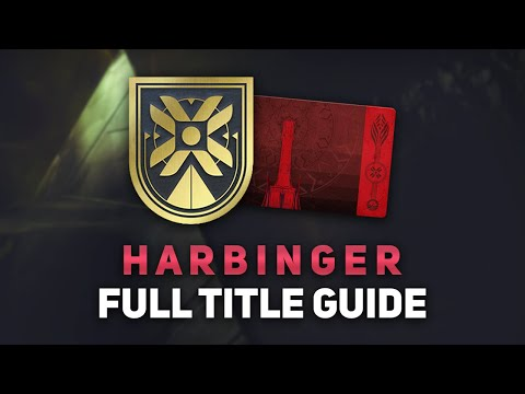 Destiny 2: Harbinger Title Guide - Lunar Rover Badge & Seal (Unlock All Items & Triumphs)