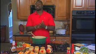 Ovie Mughelli Shares Winning Football Party Recipes