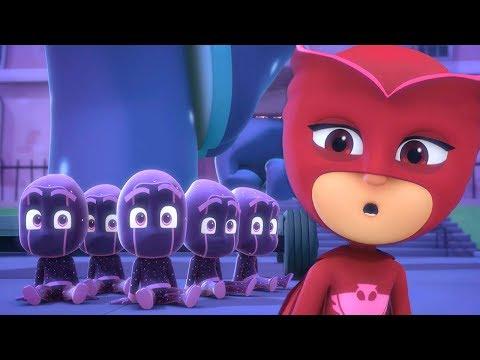 Pijamaskeliler Türkçe - Baykuş Kizin İki̇ Yanlişi - çizgi film çocuklar için