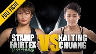 ONE: Full Fight | Stamp Fairtex vs. Kai Ting Chuang | A Champion Is Born | October 2018
