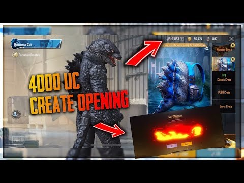 70000 RIBU UC GODZILA MONSTROUS SUIT - PUBG MOBILE INDONESIA - BANG