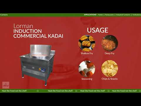 Induction Deep Fryer Kadai