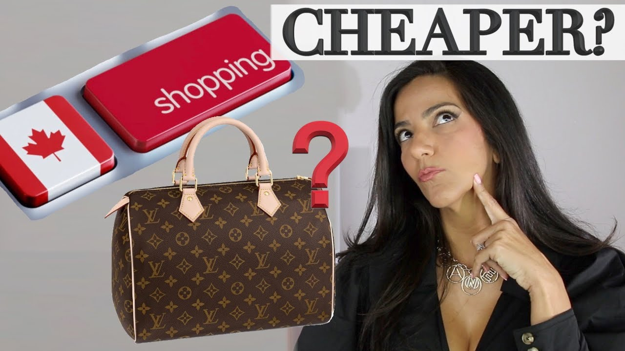 Is it Cheaper to Shop in Canada? Which Luxury Brand is Best to Buy? Ericas Girly World