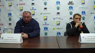 Пресс-конференция «Алтай Торпедо» - ХК «Астана»