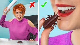 11 лайфхаков и пранков для офиса / Как пронести еду в офис