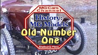Old Number One - on the MG Cars Channel -