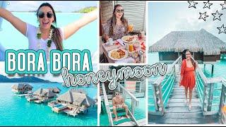 BORA BORA HONEYMOON VLOG PT. 1 | Villa Tour & More!