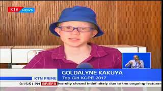 Goldalyne Kakuya inspires many after beating odds to emerge top girl in KCPE 2017