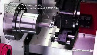 NC Lathe | Turning Center – With Powerful Power Turret