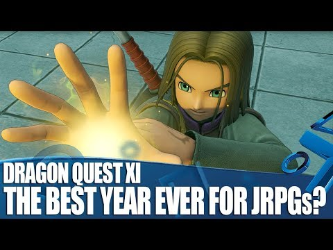 Dragon Quest XI English Gameplay – Is 2018 The Best Year Ever for JRPGs?