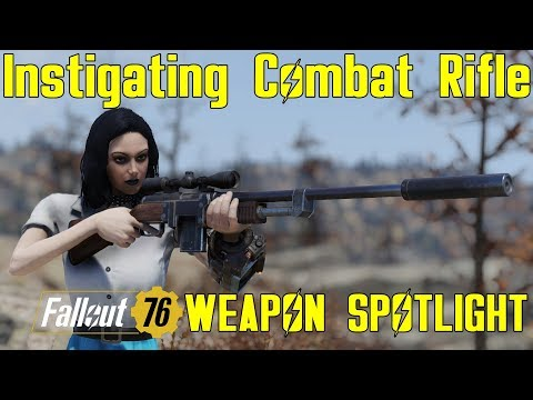 Fallout 76: Weapon Spotlights: Two Shot Explosive  50 Cal Machine