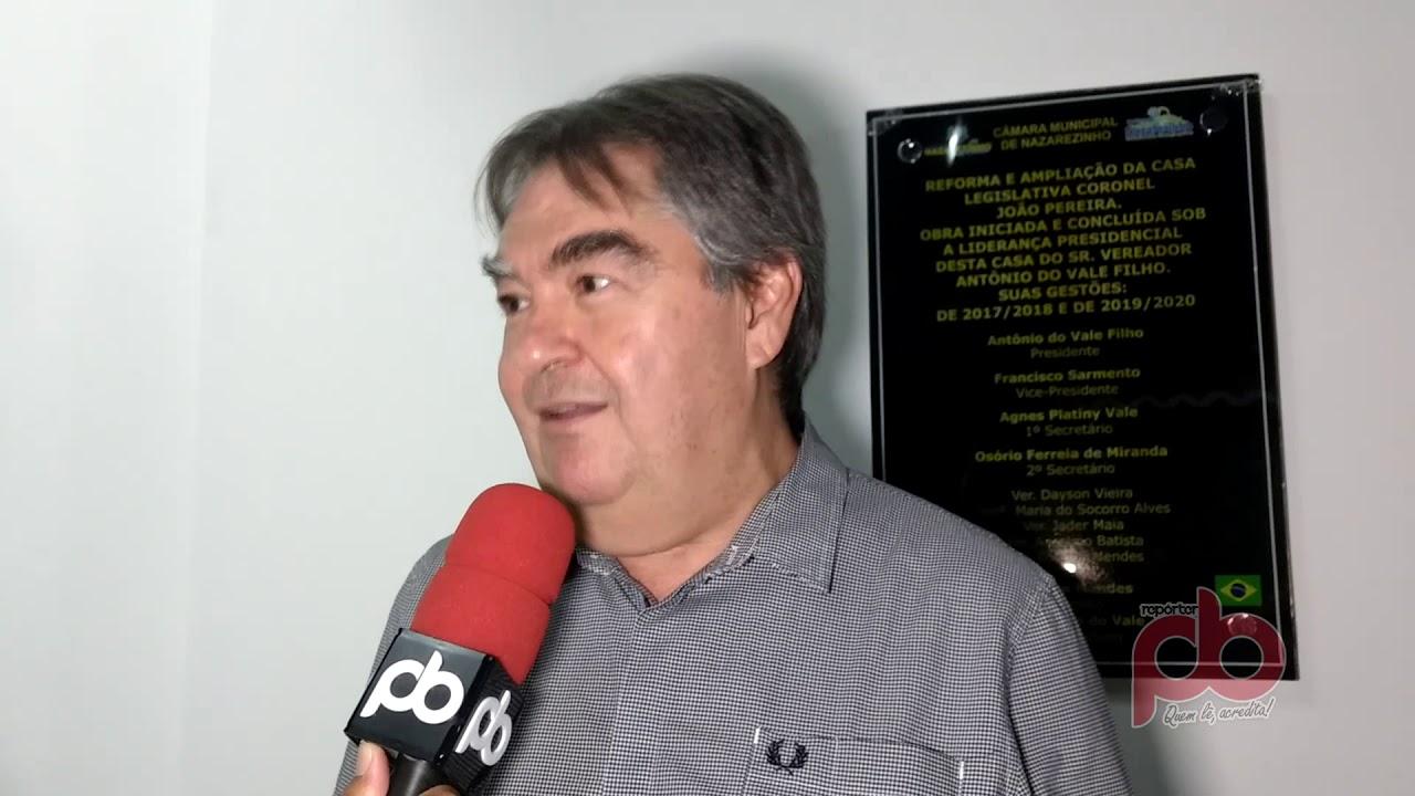 Em Nazarezinho, Lindolfo afirma que João Azevedo ficará com Marcelo Vale em 2020