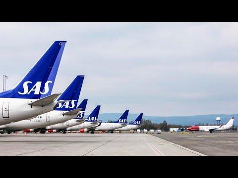 العرب اليوم - شاهد: الخطوط الجوية الإسكندنافية تلغى أكثر من 1200 رحلة