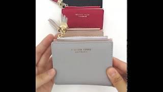 Dompet Pendek Lipat Dua Wanita Cewek Kartu Koin Korea Style 4637 Import