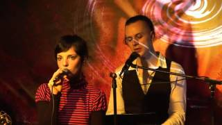 Zeraphine - Houses of cards (Live & Acoustic in Berlin - theARTer Gallery) (Zeromancer Cover)