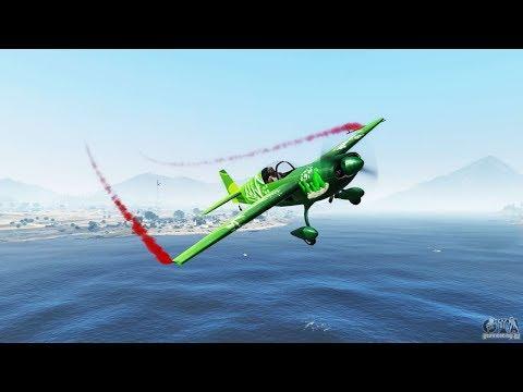 GTA 5. Приколы с читами. Первым делом-самолеты.