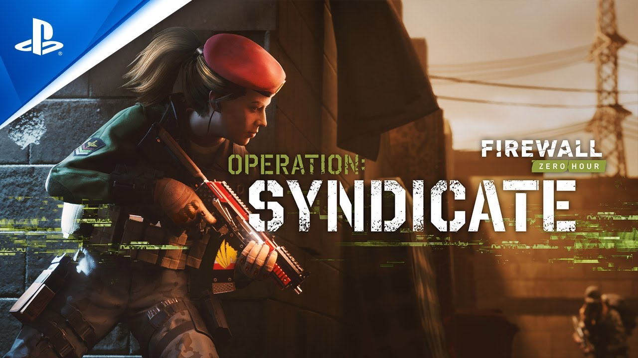 Out tomorrow: Firewall Zero Hour's new season — Operation: Syndicate