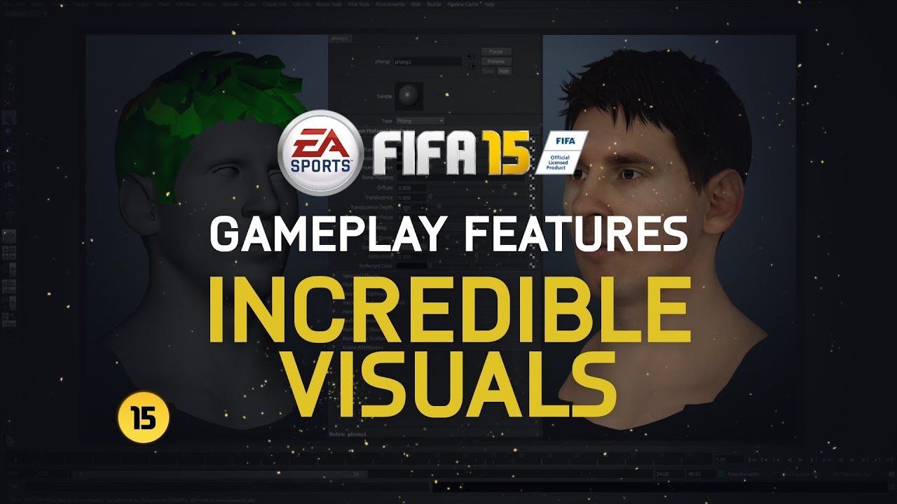 FIFA 15 Is Going To Be A Pretty Video Game