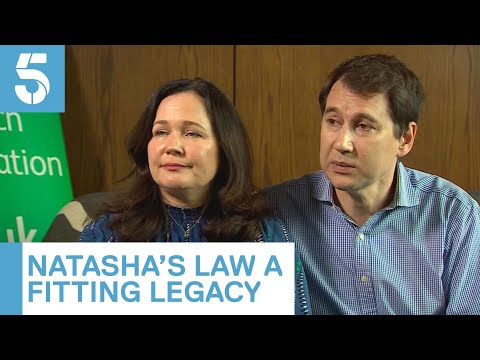 "Natasha's Law: parents proud of ""fitting legacy"" | 5 News"