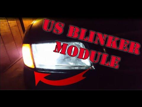 How to install US blinker module !