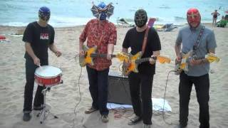 Los Straitjackets On The Beach In Spain  High Rockabilly Festival 2011!