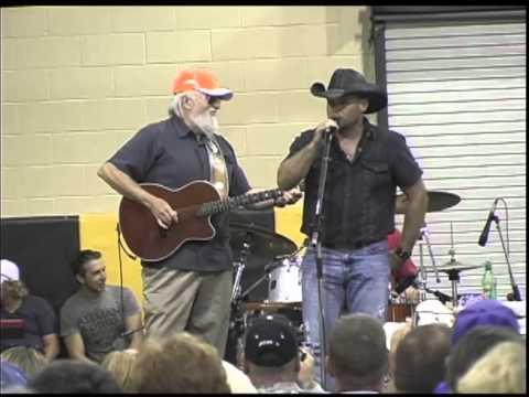Mike Grover with Charlie Daniels