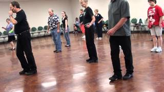 CUMBIA SEMANA Line Dance @ 2012 IRA WEISBURD SCHERTZ TEXAS WORKSHOP.m2ts
