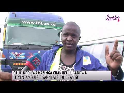 Eby'entambula bisannyaladde e Kasese oluvanyuma lwa Kazinga channel okugaddwa