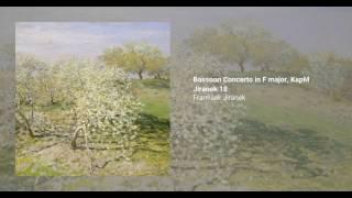Bassoon Concerto in F major, KapM Jiranek 18