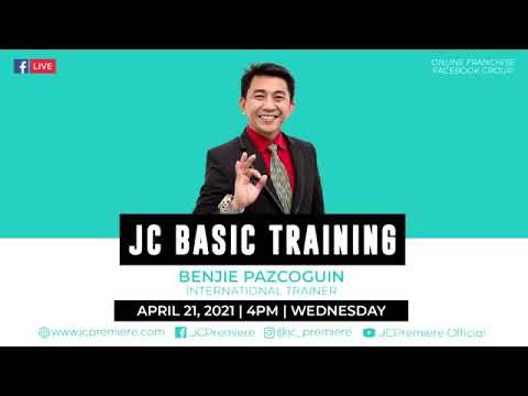 JC BASIC ONLINE FRANCHISE TRAINING BY: MR. BENJIE ...