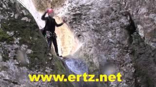 preview picture of video 'Descenso barranco cañón Arteta Artazulo Artazul Nafarroa Navarra'