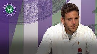 Juan Martin Del Potro proud of Wimbledon displays