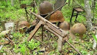 WWII guns found near German bunker WW2 Metal Detecting - Video Youtube