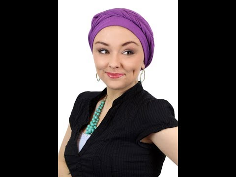 Luxury Bamboo Wrap / Beanie - Solid Colors Video